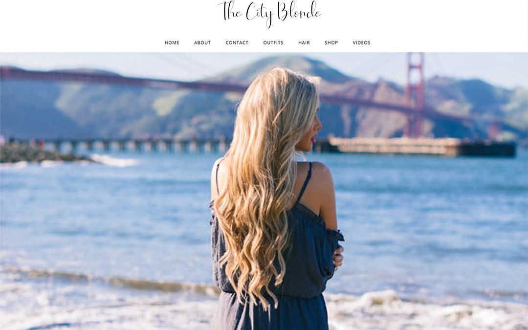 The City Blonde Website